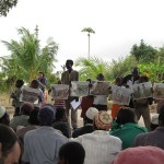 Ensino Bíblico na aldeia Mwinika